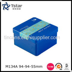 Square Shape Tin Box