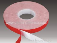 White Acrylic Tape (decoration)
