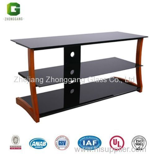 MDF And Glass TV Table/Living Room Furniture/LCD TV Stand/Wooden TV