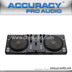 dj player with virtual dj software