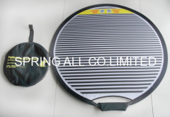 Big size advertising foldable frisbee