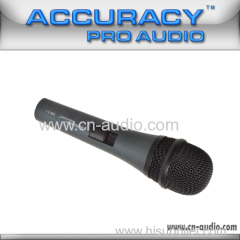 Professional handheld wired microphone