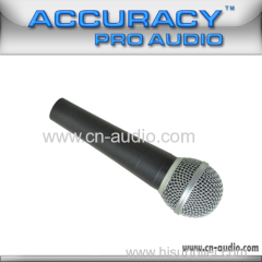 Professional dynamic wired microphone