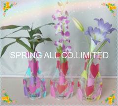 fashion pvc foldable vase