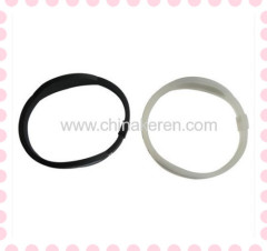 silicone power bracelet with your brand and logo