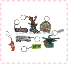 2013 fancy custom pvc keychain promotion gift