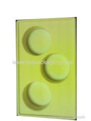disposable plastic tea tray