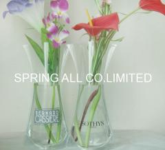 transparent foldable pvc vase