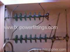 33kv power line suspension composite insulator string set