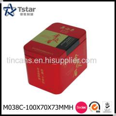 Rectangular Tea Tin Box