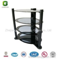 Aluminium TV Stand/Tempered Glass Dining Table/Modern Room Table