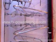220KV POWER LINE TENSION GLASS POLYMER composite STRING SET