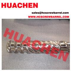 Bimetallic screw barrel PP