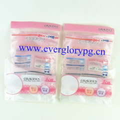 side gusset cylinder plastic bag zipper