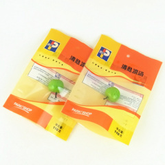 250g side gusset plastic tea packaging pouch