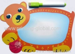 Thermal transfer tapes for plastic writeboard