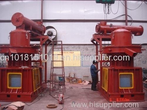 Big wood pellet machine
