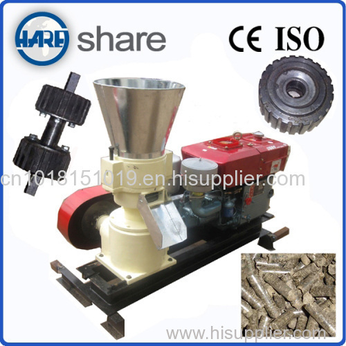 bark wood pellet press