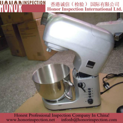 Mixer quality control in china