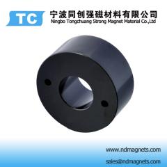 Black Epoxy coating neodymium magnets