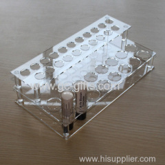 Clear 36 Makeup Lipstick Cosmetic Storage Display Stand Rack Holder
