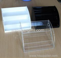 A variety of color material acrylic cosmetics display stand