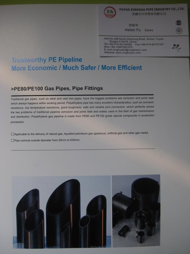 PE80/PE100 Water Supply Pipes,Pipe Fittings