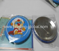 Thermal transfer tapes for plastic badge