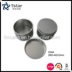 Metal Packing Round Tin Can