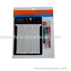 2390 points printed circuit board and jumper wire box ZY-206+J