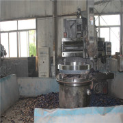 The flange processing machine