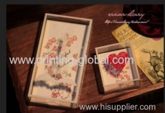 Thermal transfer tapes for plastic gift box