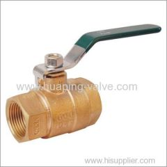 Full Port Bronze Ball Valve