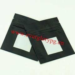 Custom Black Ziplock Foil Bags