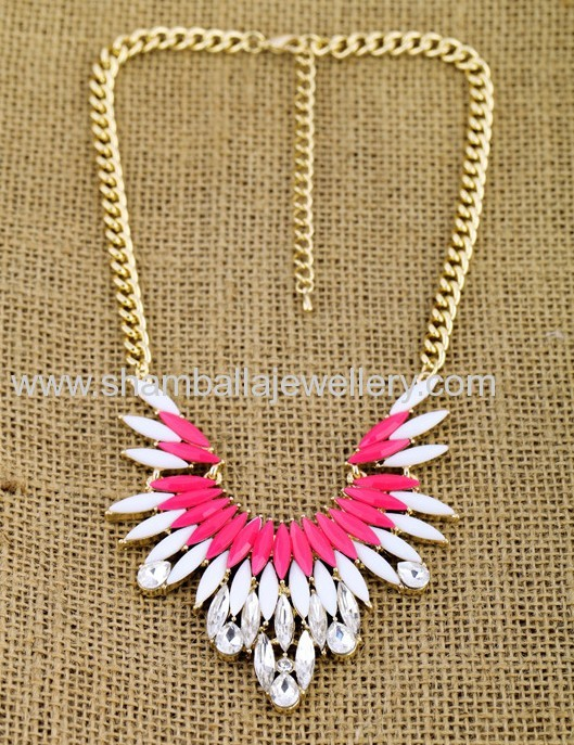 wholesale rhinesrone bib collar shourouk necklaces fashion jewelry