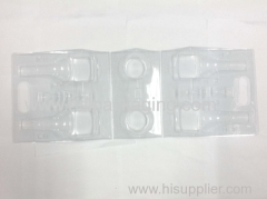 attractive and elegance Clear packaging with printing