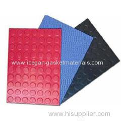 Oil-proof rubber sheet gasket