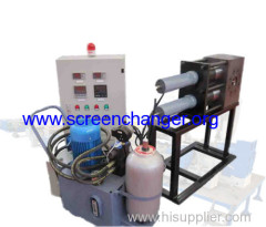 Double channel screen changer-continuous screen changer