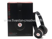 2013 Beats by Dr Dre Solo HD Headphones Black