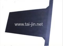 DSA Titanium mixed metal oxide coated plate anode for Aluminium Foil