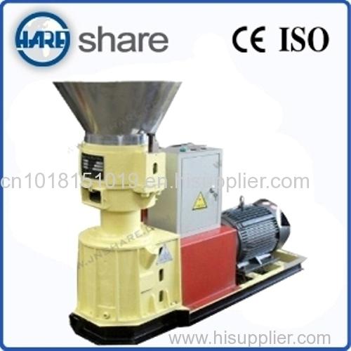 Wood sawdust press machine