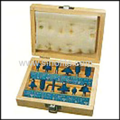 Wood router bits set for carpenter 12pcs