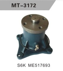 S6K ME517693 WATER PUMP FOR EXCAVATOR