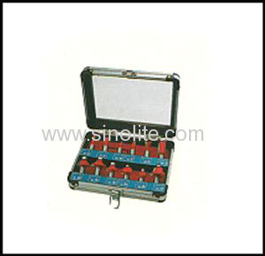 Wood working router bits set for carpenter 12pcs/set