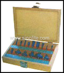 Wood working router bits set for carpenter 15pcs/set