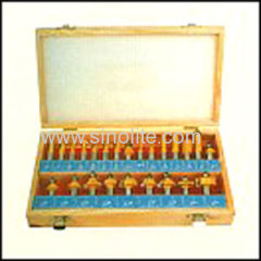 Wood working router bits set for carpenter 24pcs