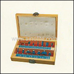 Professional wood router bits set 15pcs