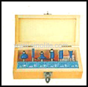 Professional wood router bits set
