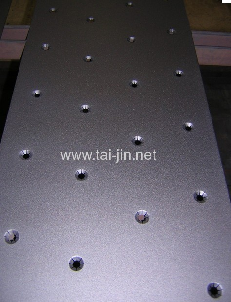 Copper foil production and treatment mmo Ti anode