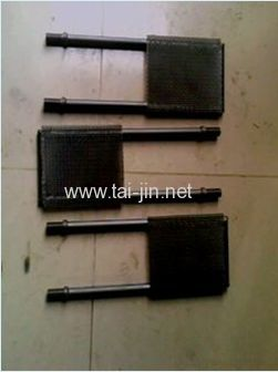 Variety of Shapes and Specification Electroplating Titanium Anodes